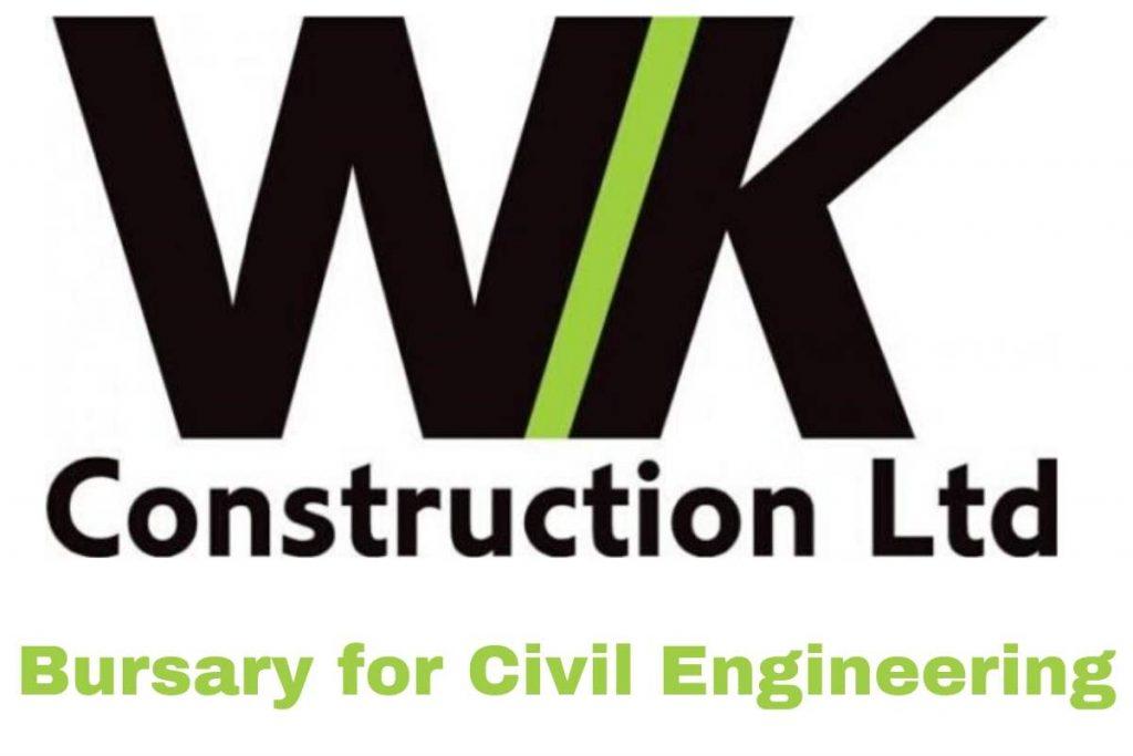 WK Construction Bursary for Civil Engineering