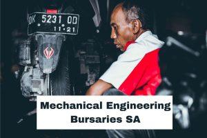 mechanical engineering bursaries in SA