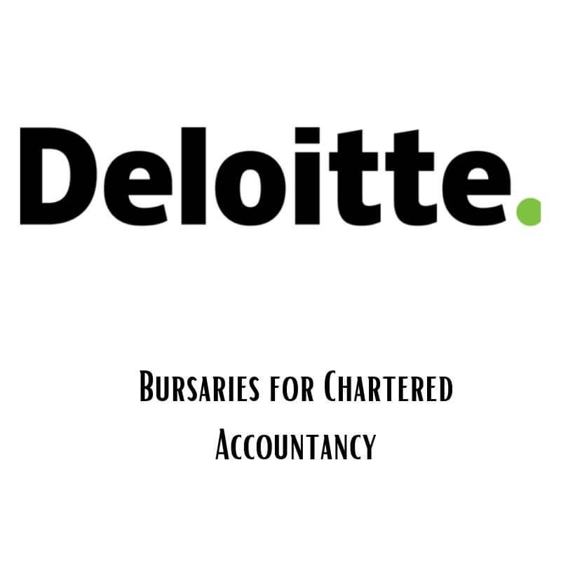 Deloitte Bursary for Chartered Accountancy