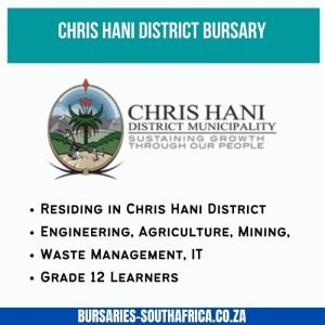 CHDA bursary Chris Hani district municipality bursary