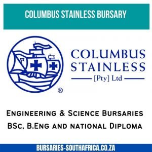 columbus stainless bursary