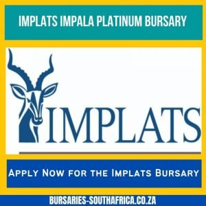 implats bursary impala platinum