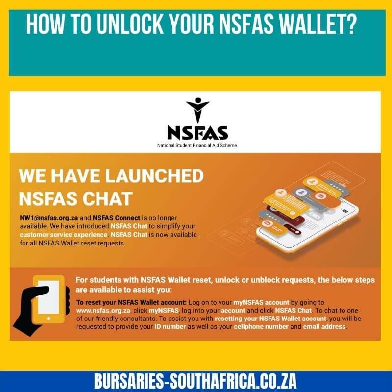 unlocking your nsfas wallet
